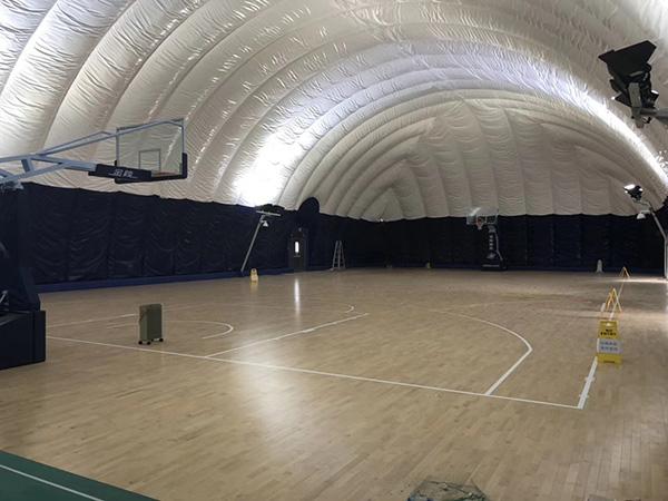 充气膜网球馆,充气膜羽毛球馆