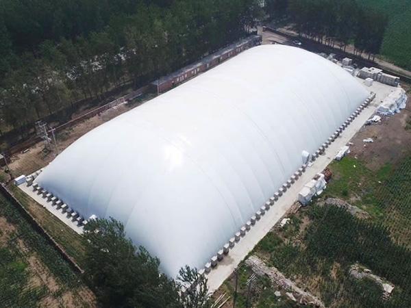 充气膜污水处理厂